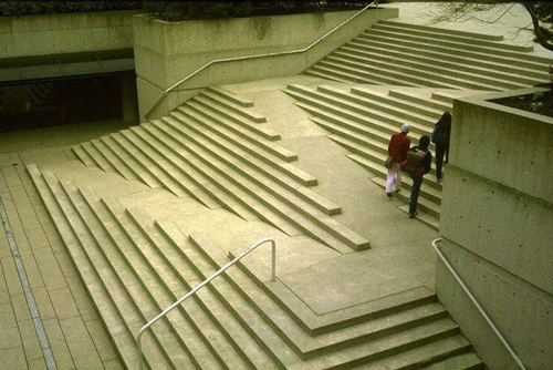 stair with ramp