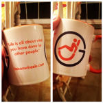 Nothing like some inspirational HESONWHEELS coffee to get the morning going!
