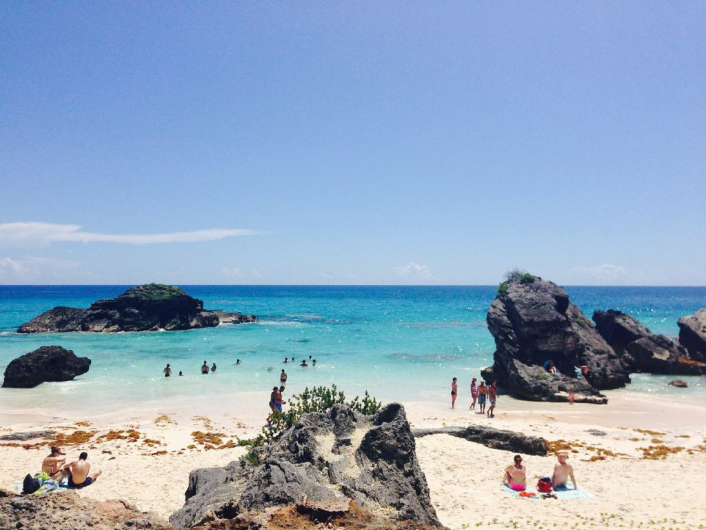 This is one of the beaches that we spent our last hours in the country on - it is called Snorkel Beach.  GORGEOUS!